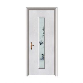 Nano wooden doorZXQ-1036B Open rub silver