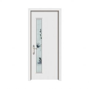 Nano wooden doorZXQ-1095B Mixed oil ivory white